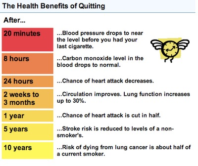 benefits of quitting smoking essay