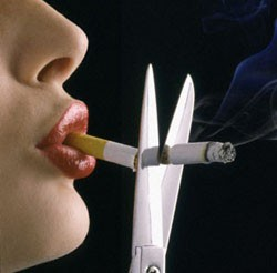 quit smoking cut the cigarettes